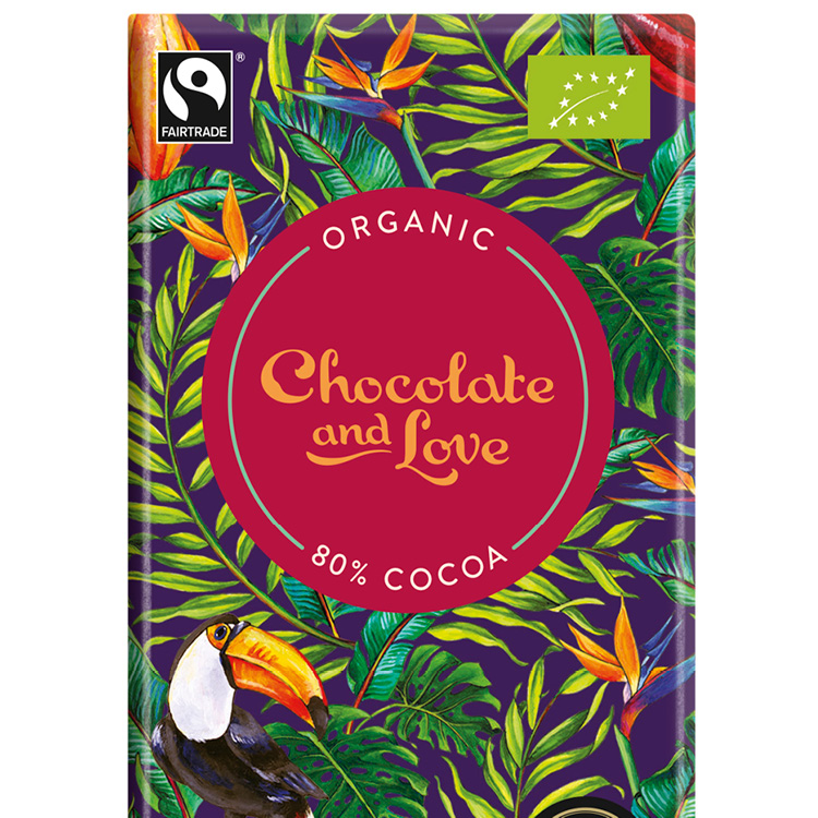 Chocolate & Love - Panama 80 % - 80 g