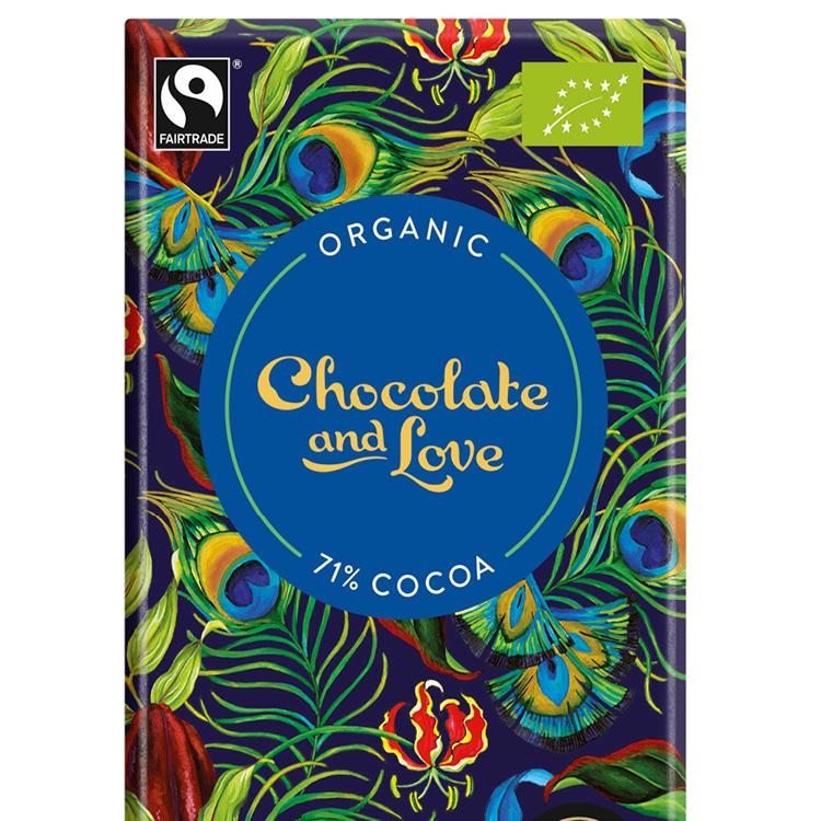 Chocolate & Love - Rich Dark 71 % - 80 g