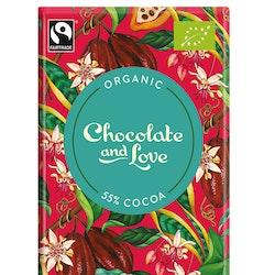 Chocolate & Love - Creamy Dark 55 % - 80 g