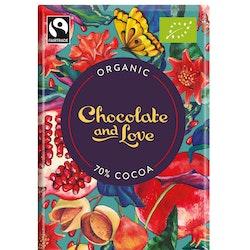 Chocolate & Love - Pomegranate 70 % - 40 g