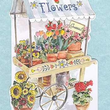 Blomstervagn