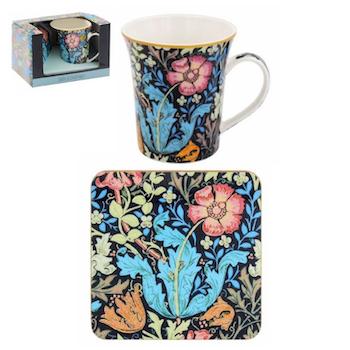 William Morris Compton - Presentset mugg & coaster
