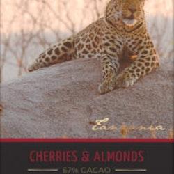 Mörk choklad med körsbär & mandel, Ekologisk, 100 g