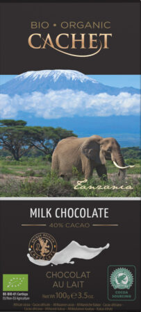 Mjölkchoklad Tanzania, Ekologisk, 100 g