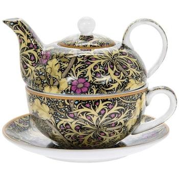 William Morris - Tea for One - Seaweed
