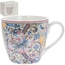 William Morris Pink Golden Lily Frukostmugg