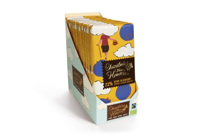 Mörk Choklad med Blåbär