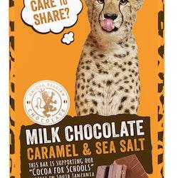 Mjölkchoklad med Karamell & Havssalt