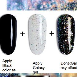 Gel polish Holographic Galaxy
