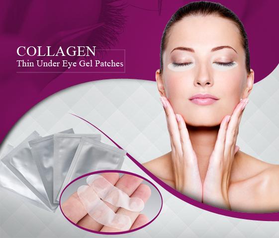 Collagen pads för ögon
