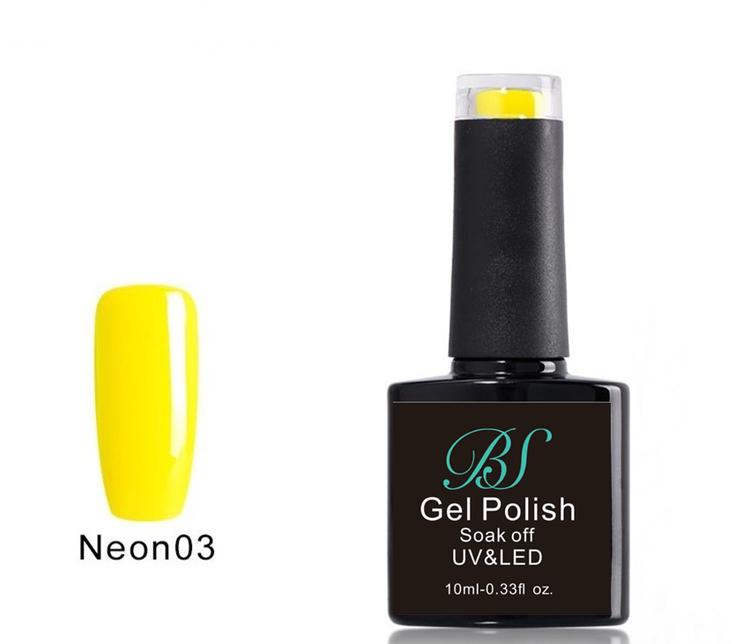 Gel polish Neon Lemon