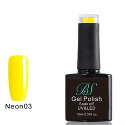 Gel polish Neon Lemon