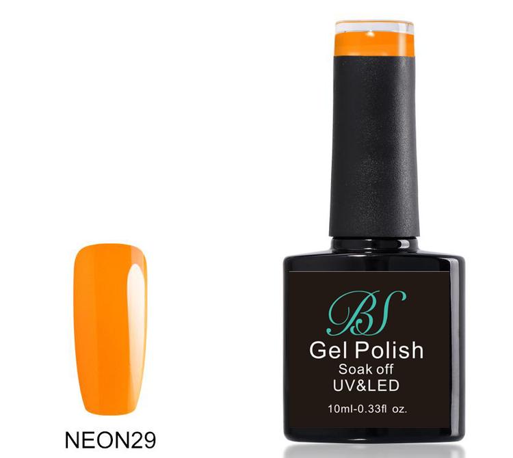 Gel polish  Neon Marigold