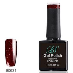 Gel polish Bacarra Red