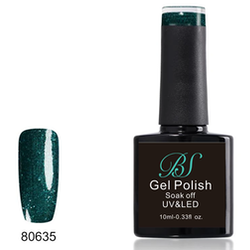 Gel polish Emerald