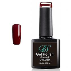 Gel polish Dark red