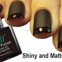 Gel polish Matte and Shiny  Top Coat