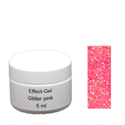 Glitter gel 5 gr Pink