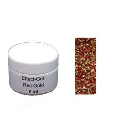 Glitter gel 5 gr Red Gold