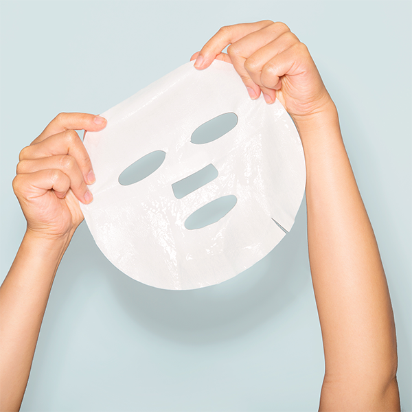 Sheetmask, Hyaluron och collagen