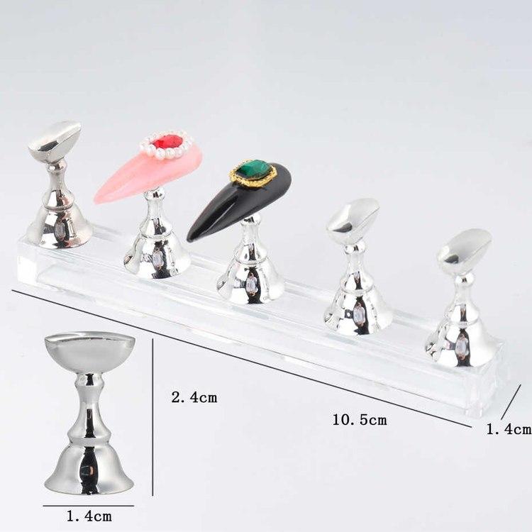 Magnetiska nagel displayer 5 pack