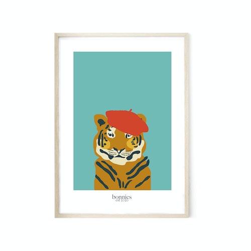 Tiger i basker