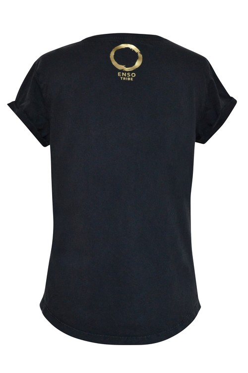 MY PATH - SHIRT - BLACK GOLD