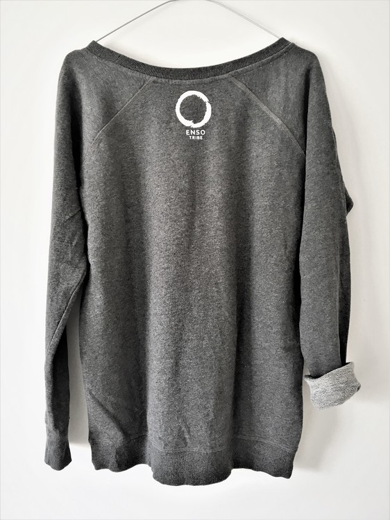 YOGA VIBE TRIBE - SWEATER - DARK GREY