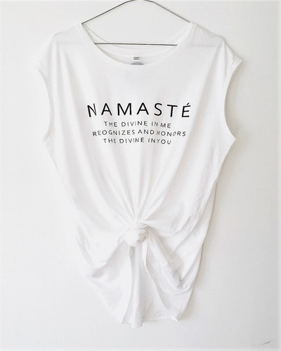 NAMASTÉ - TANK - WHITE