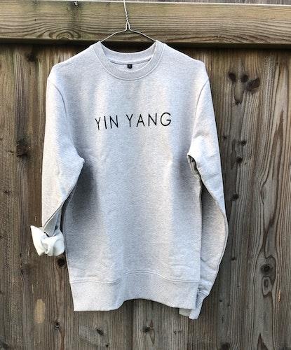YIN YANG - SWEATER - GREY