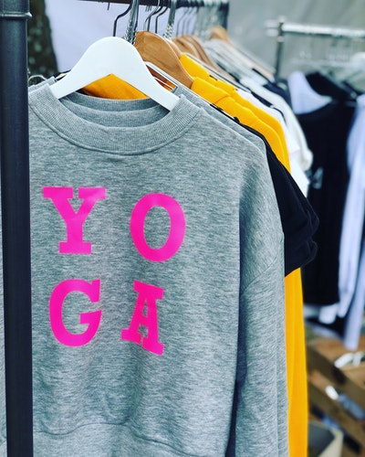 YO GA - SWEATER - GREY