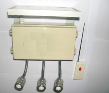 Åtelbelysning med 3 lampor HA-16