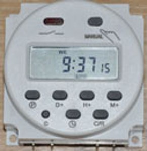 Programerbar Elektronisk Timer