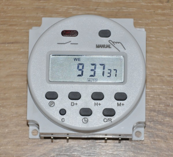Programmerbar Elektronisk Timer