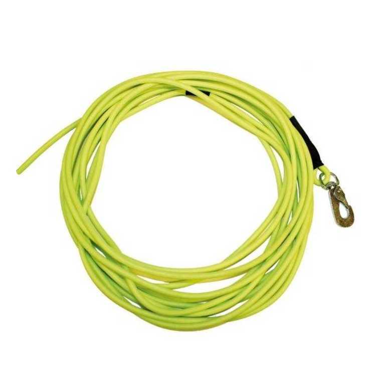 Spårlina 6mmX10m Neongrön