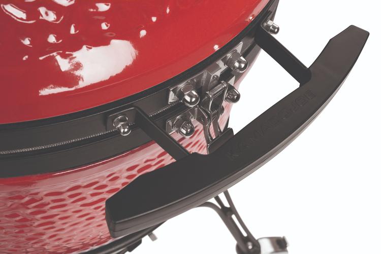 Kamado Joe Classic II Inkl. Gjutjärns Galler, Gjutjärns stekplatta, 50l Alsläktet kol och 9kg kol!