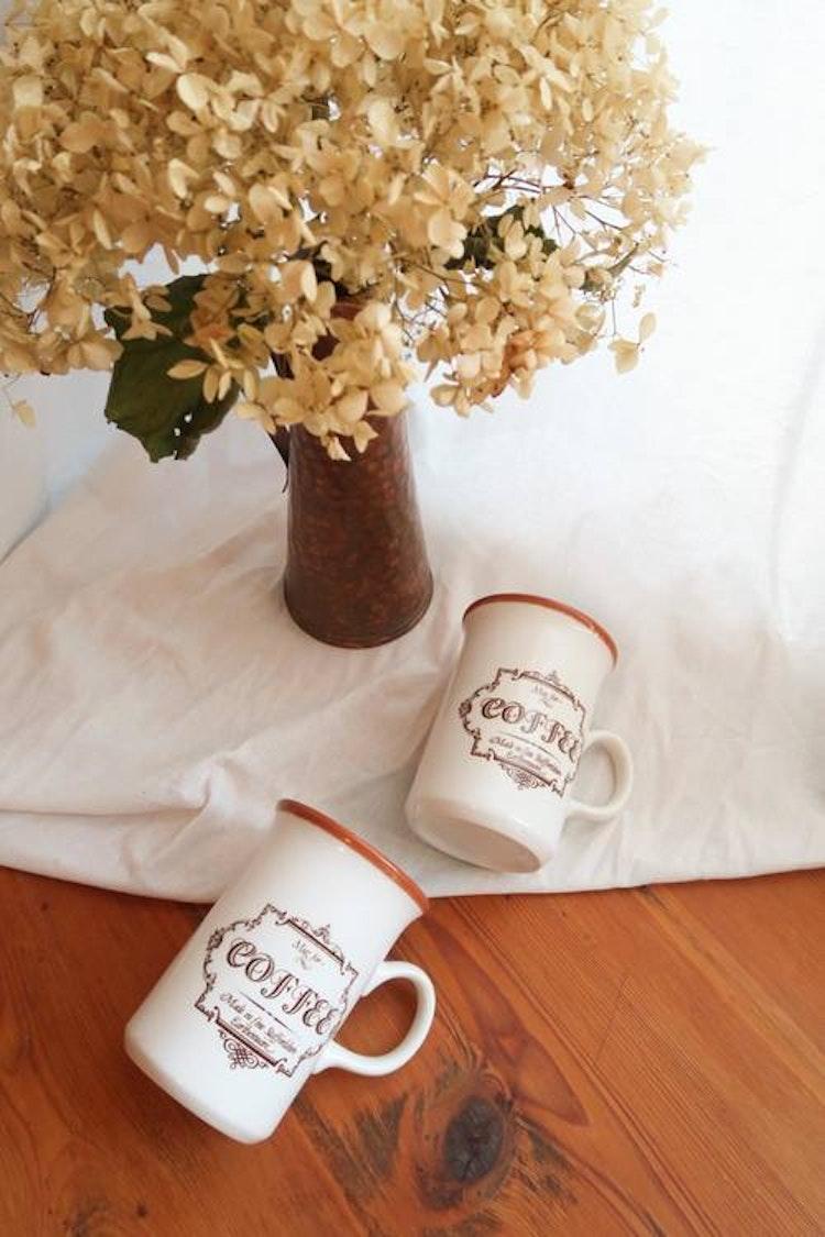 Två kaffemuggar