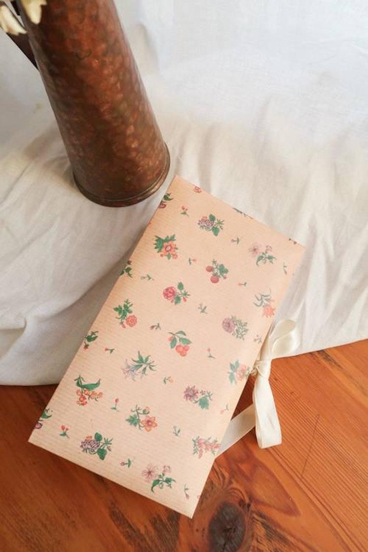 Blombok med fack