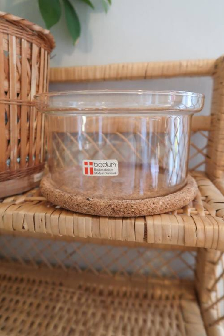 Bodum glasskål med kork