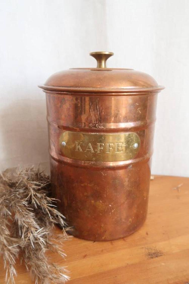 Kaffeburk med patina