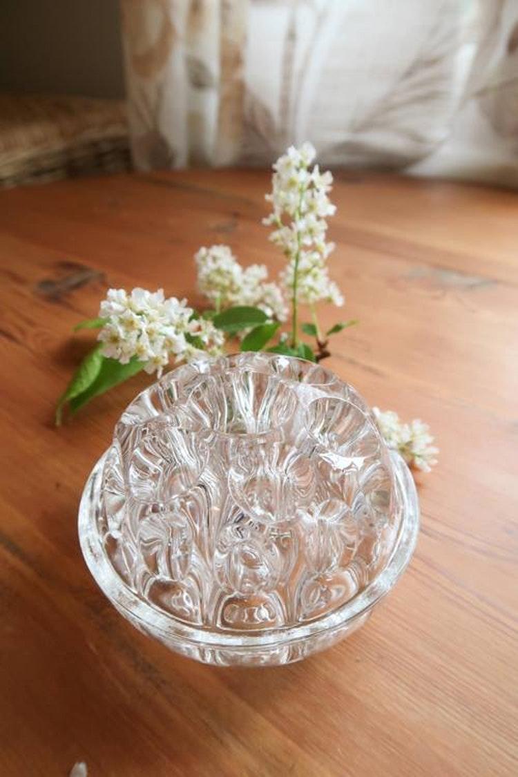 Blomsterfakir i glas