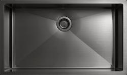 Kopia Tapwell Diskho 8040 PVD Black Chrome