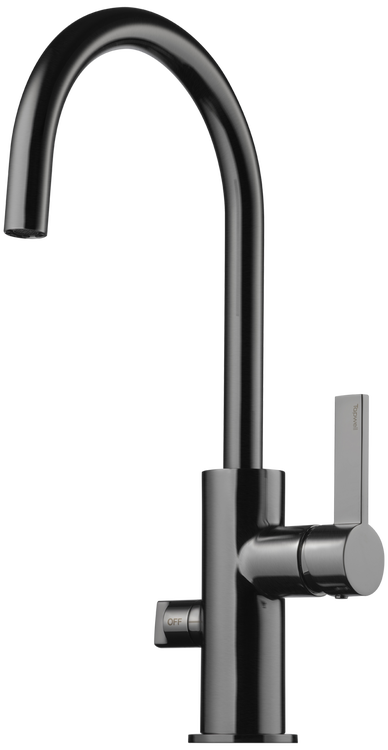 Tapwell ARM184 Brushed Black Chrome