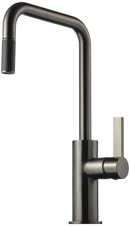 Tapwell ARM985 Brushed Black Chrome