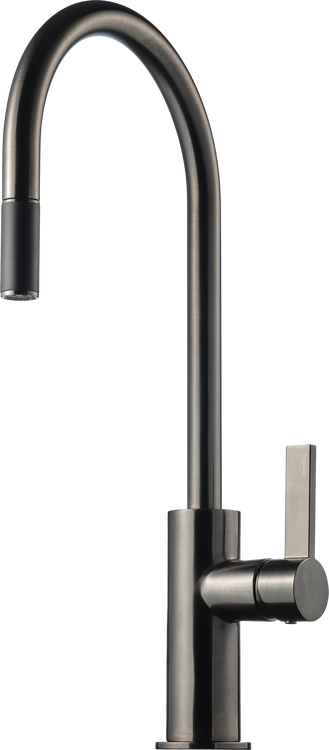 Tapwell ARM185 Brushed Black Chrome