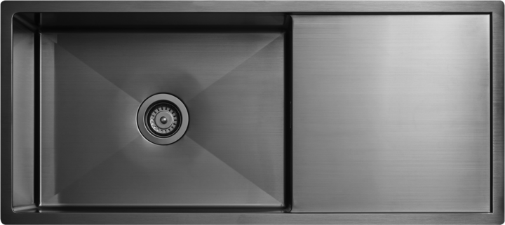 Tapwell Diskho 8140 PVD Black Chrome