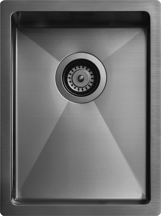 Tapwell Diskho 3040 PVD Black Chrome