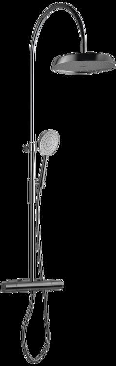 Tapwell ARM7300-160 Black Chrome