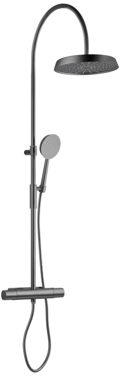 Tapwell ARM7300-160 Brushed Black Chrome
