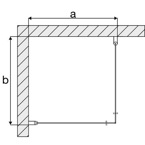 Arrow Corner Black Edition (2 meter)